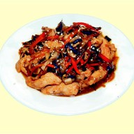 Курица в соево-имбирном соусе Фото