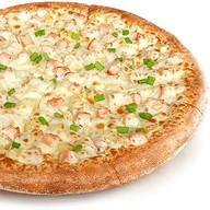 Пицца с картофелем и курицей Фото