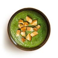 Крем-суп со шпинатом и сливками Фото
