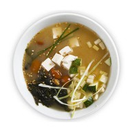 Мисо суп с овощами Фото
