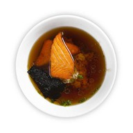 Салмон суп Фото