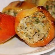 Перец, фаршированный мясом и рисом Фото
