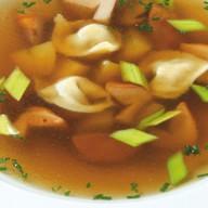 Традиционный итальянский суп Фото