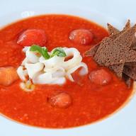 Острый томатный суп Паппа Фото