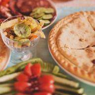 Пирог с яблоками и лимоном Фото