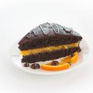 Кусочек торта Апельсиновая ночь Фото