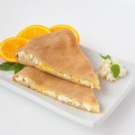 Осетинский пирог с творогом и апельсином Фото