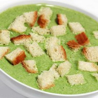 Крем-суп со шпинатом Фото
