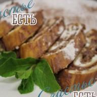 Кофейно-ореховый рулет Ч/З/С Фото