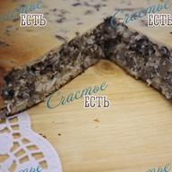 Пирог с луком, яйцом и грибами Ч/З/С Фото