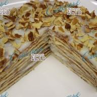 Торт блинный со сгущенкой Фото