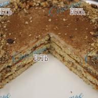 Торт бисквитный со сгущенкой Ч/З/ Фото
