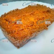 Морковный сладкий кекс с корицей Фото