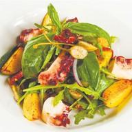 Салат с осьминогом и беби-картофелем Фото