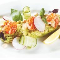 Салат с авокадо и креветками Фото