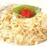 Спагетти 4 сыра Фото