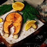 Стейк чилийского лосося Фото