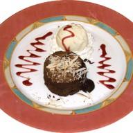 Бисквит Горячий шоколад Фото