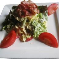 Салат с беконом Фото