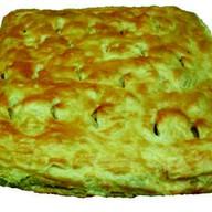 Пирог слоеный с яблоками Фото