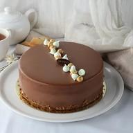 Яблочно-ореховый торт Фото