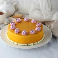 Клубнично-манговый торт Фото