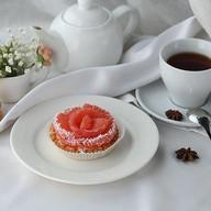 Тарталетка с грейпфрутом Фото