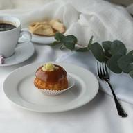 Сливочно-грушевый кекс Фото