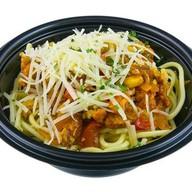 Спагетти с курицей Фото