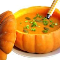 Суп-крем из тыквы Фото