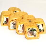 Тортилья с жареным лососем Фото