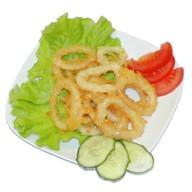 Кольца кальмара в кляре Фото