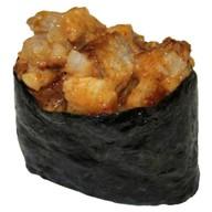 Спайси суши с копченым угрем Фото