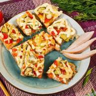 Суши-пицца чикен Фото