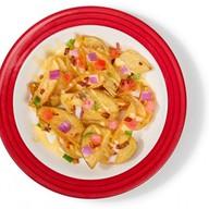 Картофельные дольки с сыром и Пепперони Фото