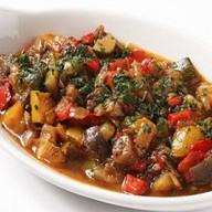 Сотэ из овощей с баклажанами Фото