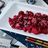 Свинина в вишнёво-гранатовом соусе Фото