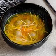 Суп с фрикадельками и лапшой Фото
