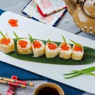Рулеты из лосося со сливочным сыром Фото