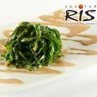Чукка салат с ореховым соусом Фото