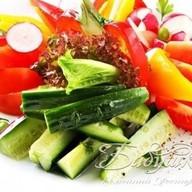 Овощная грядочка Фото