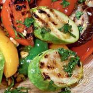 Гриль-салат из овощей Фото