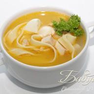 Куриный суп по-домашнему с лапшой Фото