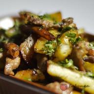 Картошечка жаренная с мясом Фото