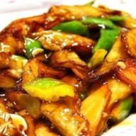 Картофель с баклажанами по-китайски Фото