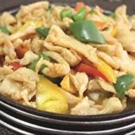 Курица на сковороде Фото