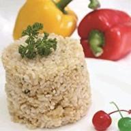 Рис с соевым соусом Фото