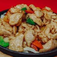 Курица wok Фото