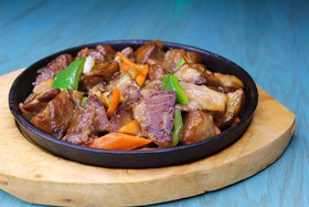 Рулька wok - Фото