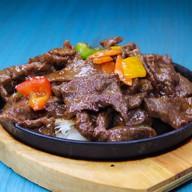 Говядина wok Фото